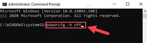Command Prompt (admin) Run Command Enter