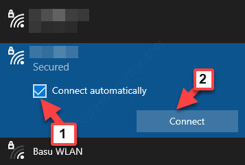 Select Wifi Network Connect Automatically Check Connect