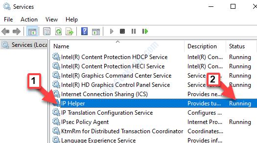Services Ip Helper Status Running