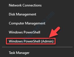 Start Right Click Windows Powershell Admin