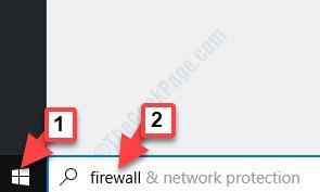 Start Search Firewall