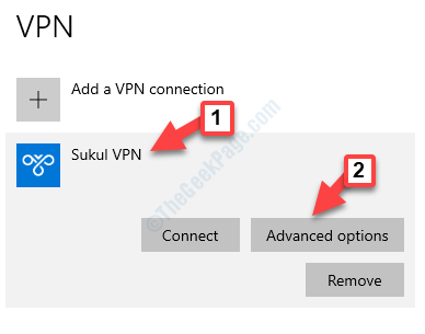 Vpn Settings Your Vpn Connection Advanced Options
