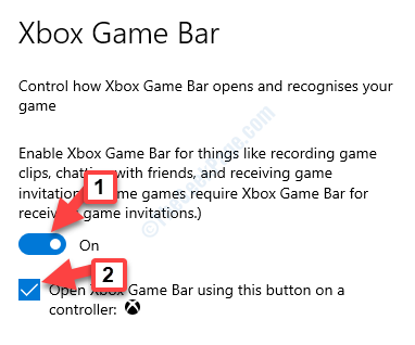 Xbox Game Bar Turn On Open Xbox Game Bar Using This Button As A Controller Check