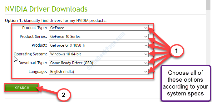 Geforce Search