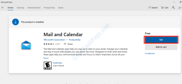 Get Calendar App