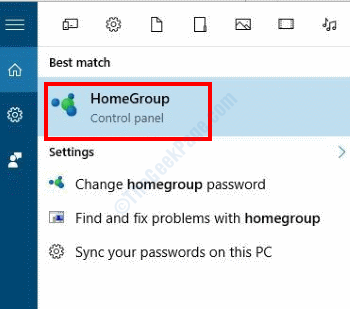 Search Homegroup