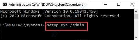 Setup Exe Admin