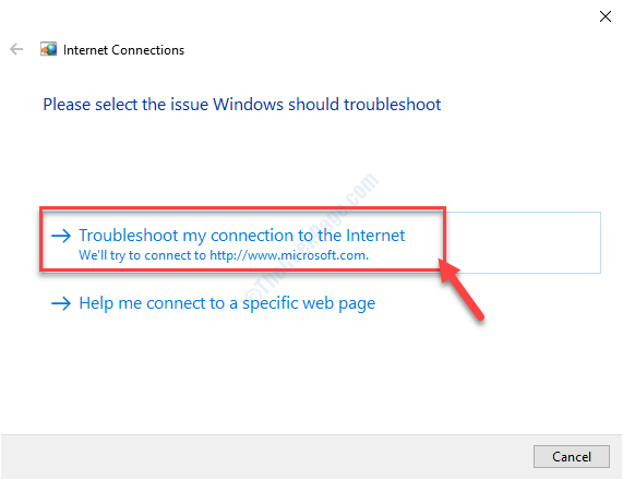 Troubleshoot Microsoft Connct