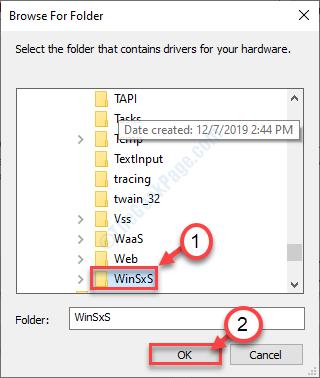 Winsxs Folder Choose