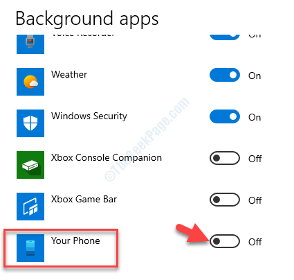 Background Apps Select Which Apps Run In The Background Your Phone Off