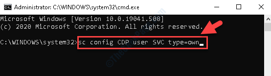 Command Prompt (admin) Run Command To Disable Cdpsvc Hit Enter