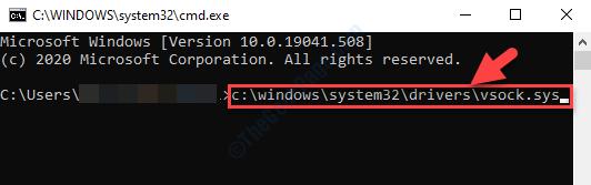 Command Line Type Location Enter