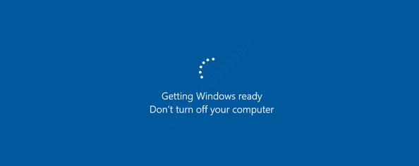 Getting Windows Ready