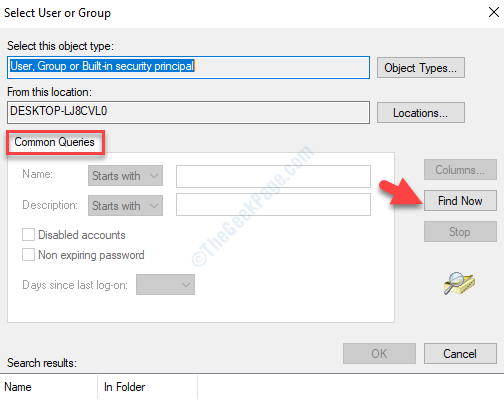 Select User Or Group Common Queries Find Now