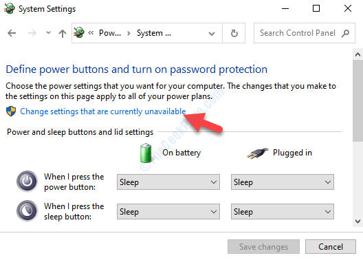 System Settings Change Settings That Are Currently Unavailable
