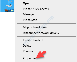 This Pc Right Click Properties