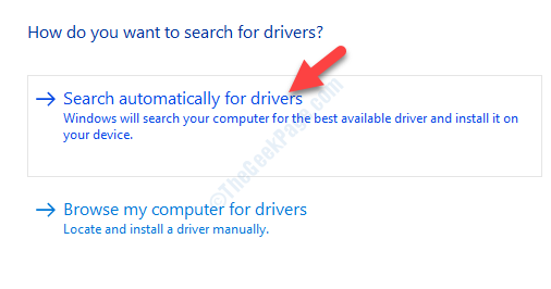 Update Driver Search Automatically For Updated Driver Software