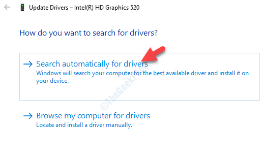 Updated Drivers Search Automatically For Drivers