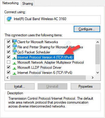 Wifi Properties Networking Internet Protocol Version 4(tcp Ipv4)