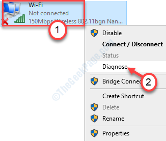 Diagnose Network Adapter