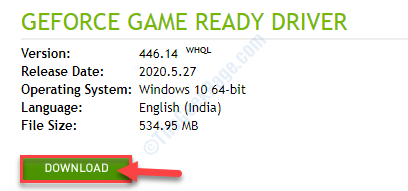 Final Download Driver