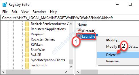 Launcher Key Delete