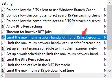 Limit The Maximum Bandwidth Dc