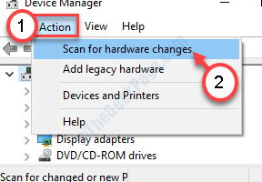 Scan For Hardware Changes New