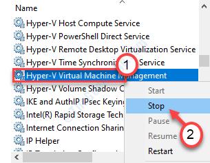 Stop Hyper Vmm