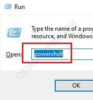1 Run Powershell