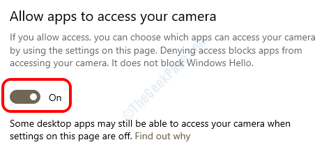 11 Allow Apps Camera