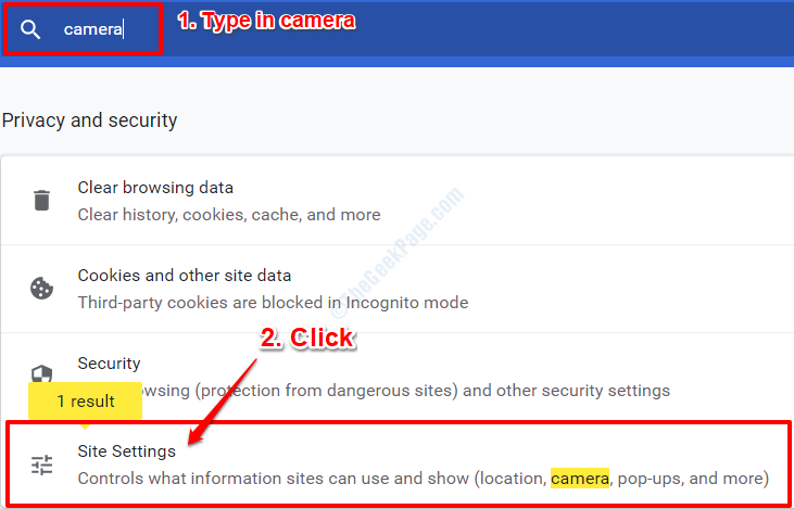 2 Chrome Site Settings