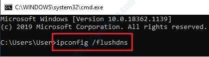 2 Flushdns Command