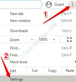 4 Chrome Settings