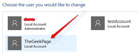 5 Control Panel User Accounts