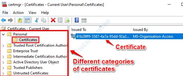 6 Certmgr Certificates