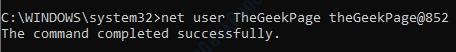 6 Net User Password