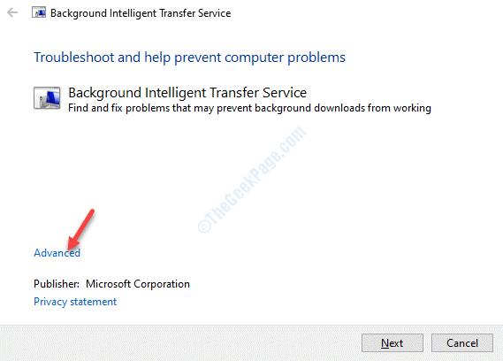 Background Intelligence Transfer Service Troubleshoot Advanced