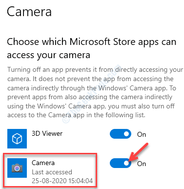 Choose Which Microsoft Store Apps Can Access Your Camera Camera Turn On