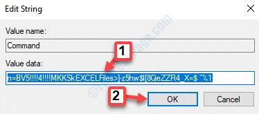 Command String Edit String Value Data Edit Value Ok