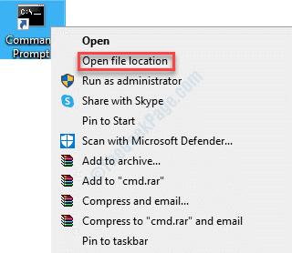 Desktop Any Program Right Click Open File Location