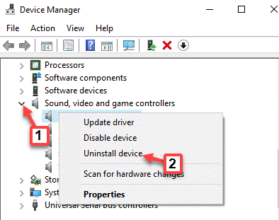 Device Manager Sound, Video And Game Controllers Conexant Smartaudio Right Click Uninstall Device