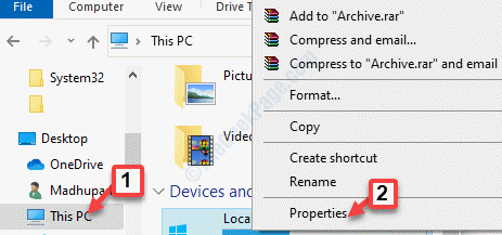 File Explorer This Pc Write Protected Drive Right Click Properties