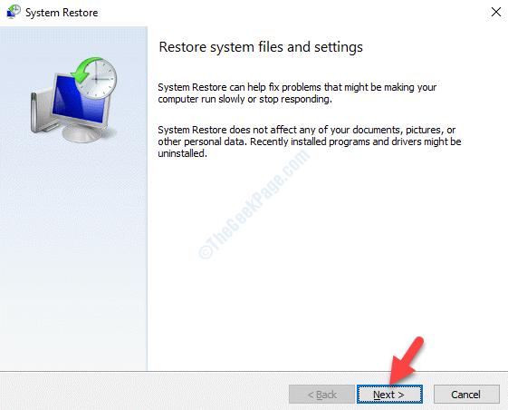 System Restore Next