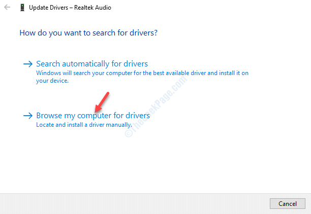 Update Drivers Realtek Audio Browse My Computer For Drivers
