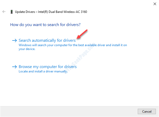 Update Drivers Search Automatically For Updated Driver Software