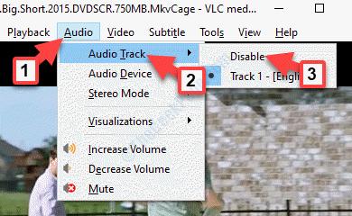 Vlc Audio Audio Track Disable