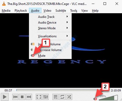 Vlc Audio Tab Mute