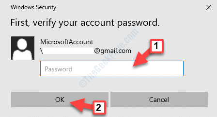 Windows Security Pop Up Enter Password Ok