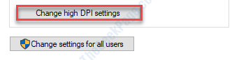 Change Dpi Settings